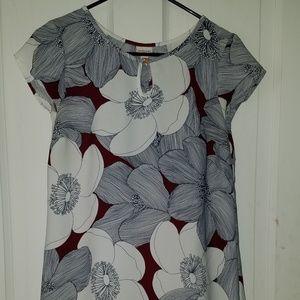 Merona Floral Shift Dress - Like New